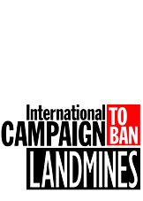 Logo for the International Campaign to Ban Land Mines